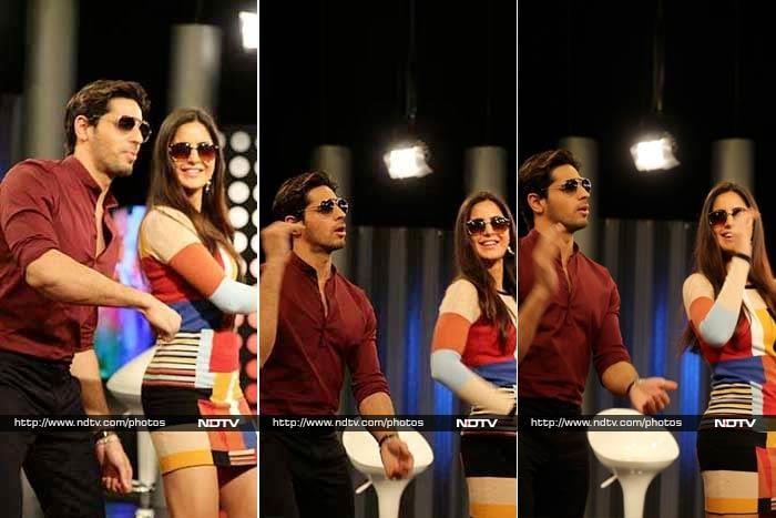 Katrina, Sidharth\'s Kala Chashma Swag In NDTV Studios Was Off The Charts