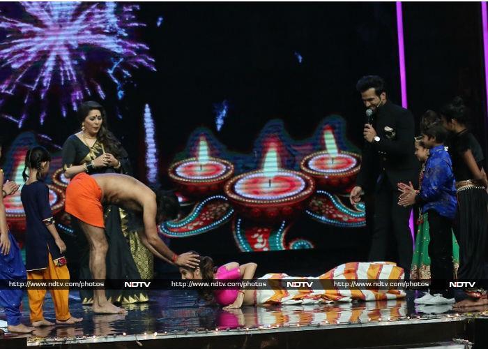 Baba Ramdev\'s Super Dancer Moves With Shilpa Shetty