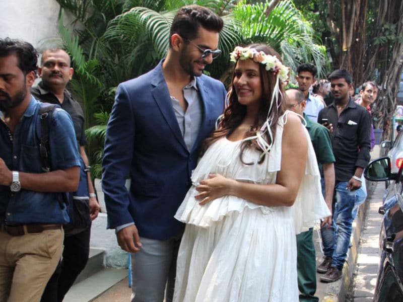 Neha Dhupia's Baby Shower Was A Starry Affair