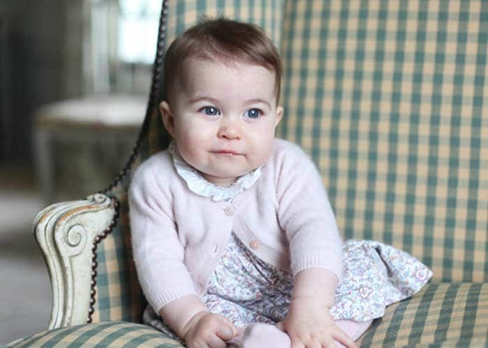 Princess Charlotte at 6 Months, Captured by Her Mother Kate