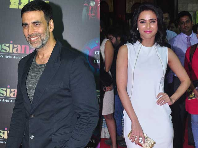 Akshay, Madhurima Win Hearts at Baby Premiere