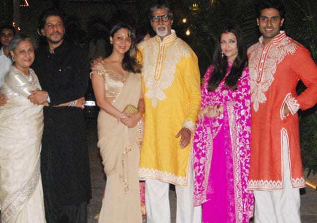 Photo : A very Bachchan Diwali