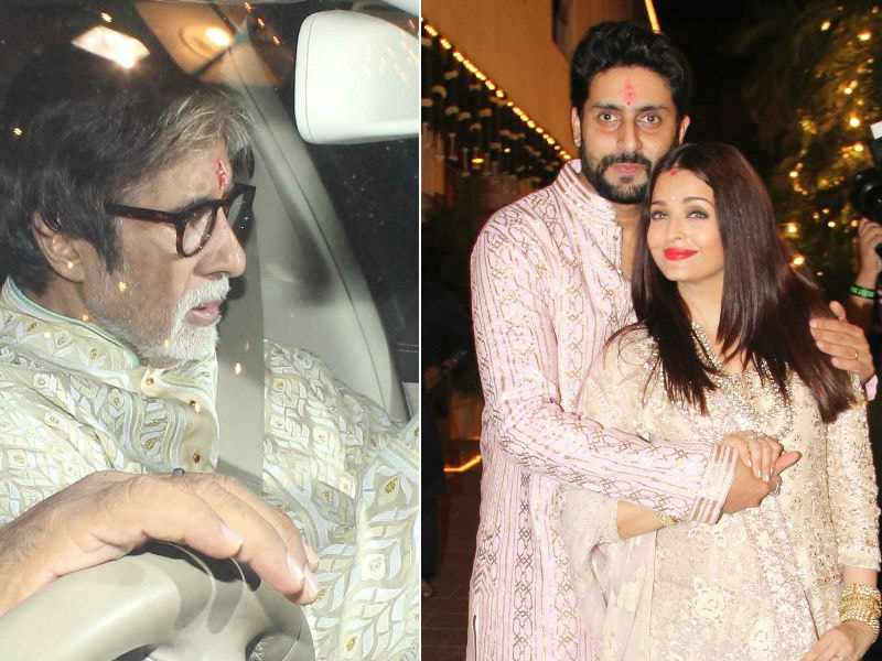 A Very Bollywood Diwali With The Bachchans
