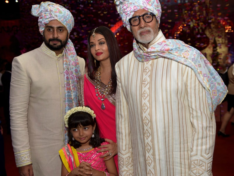 The Bachchans Add Royal Touch To Family Wedding