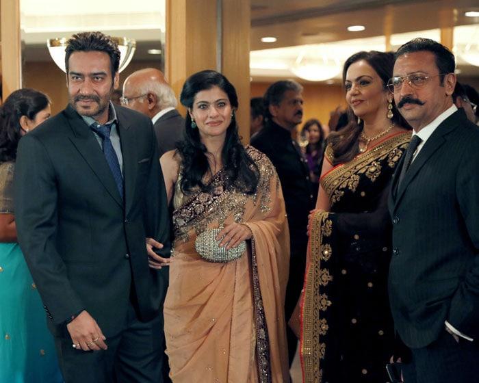 Charles & Camilla meet Bollywood and the Ambanis