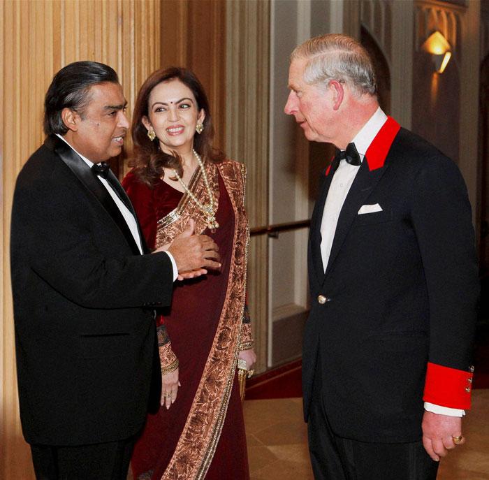 The Ambanis meet Prince Charles