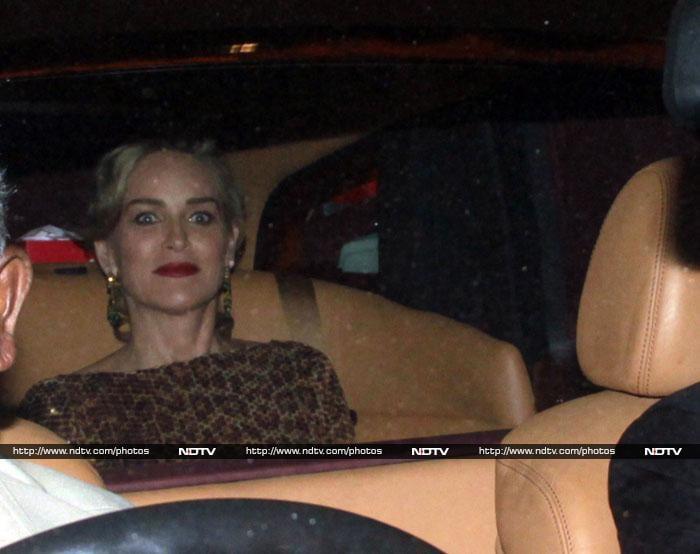 Mumbai calling Sharon Stone