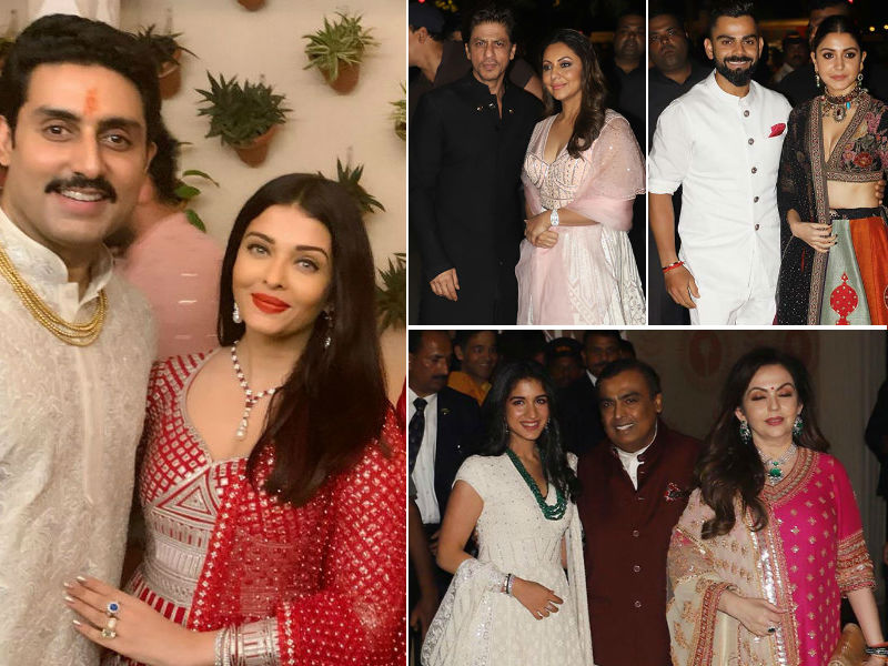 The Bachchans' Big Diwali Bash: Shah Rukh Khan, Anushka Sharma, Akshay Kumar And Others Add Star Power