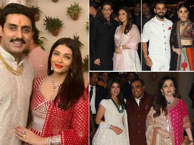 Photo : The Bachchans' Big Diwali Bash: Shah Rukh Khan, Anushka Sharma, Akshay Kumar And Others Add Star Power