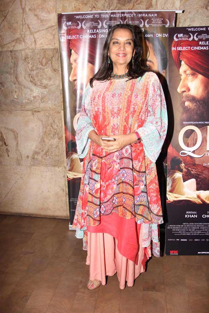 Irrfan Khan\'s Qissa with Tisca, Swara