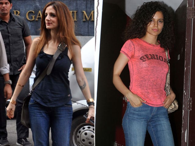Any given Sunday: Sussanne, Kangana