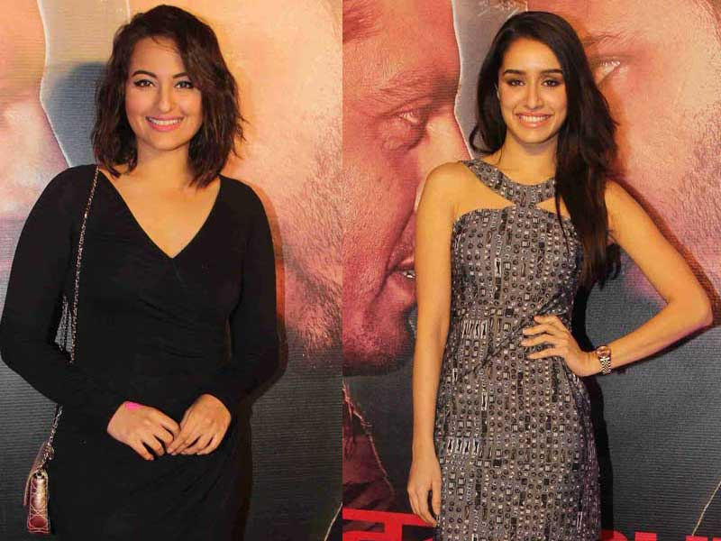 Sonakshi, Shraddha Attend Badlapur Success Party