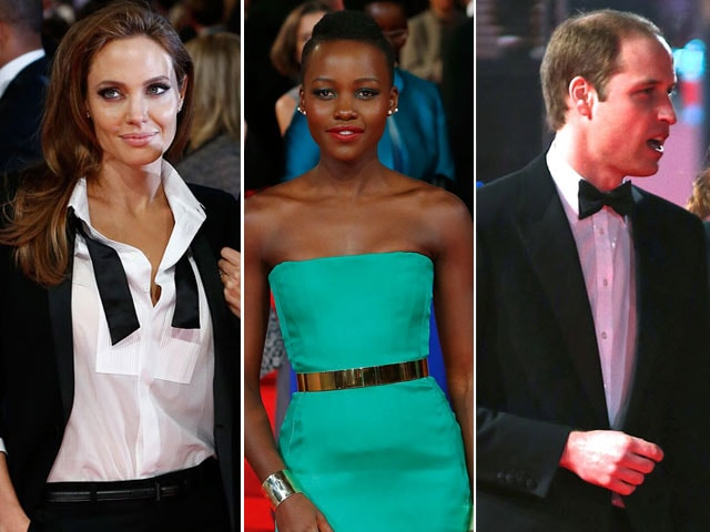 BAFTA red carpet: Film royalty and real-life royalty