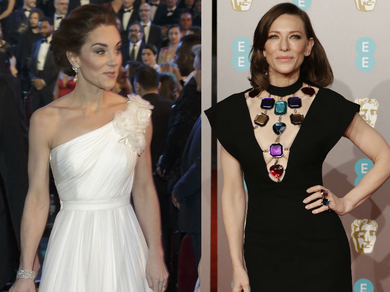Kate Middleton, Cate Blanchett And The Best Of BAFTA Red Carpet
