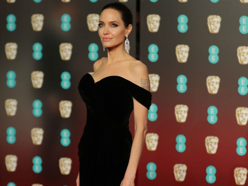 BAFTA 2018: Angelina Jolie, Jennifer Lawrence Lead Celeb Roll Call On Red Carpet