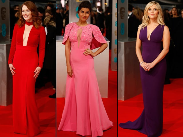 BAFTA Red Carpet: Julianne, Nimrat, Reese Steal the Show