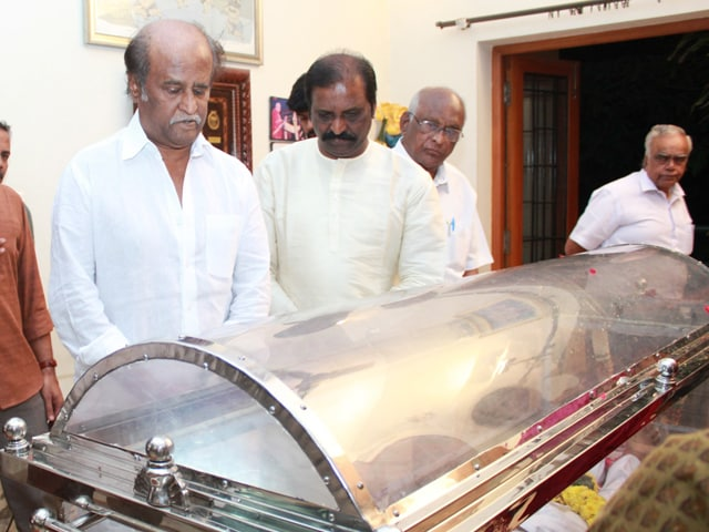 Rajinikanth Bids Farewell to K Balachander