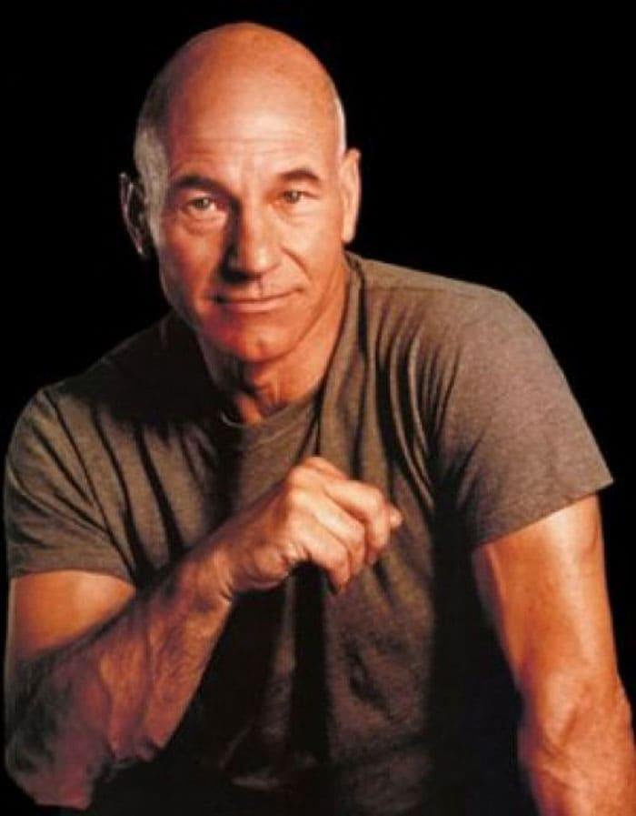 When actors went bald