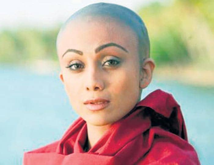 Shilpa\'s bald look for The Desire
