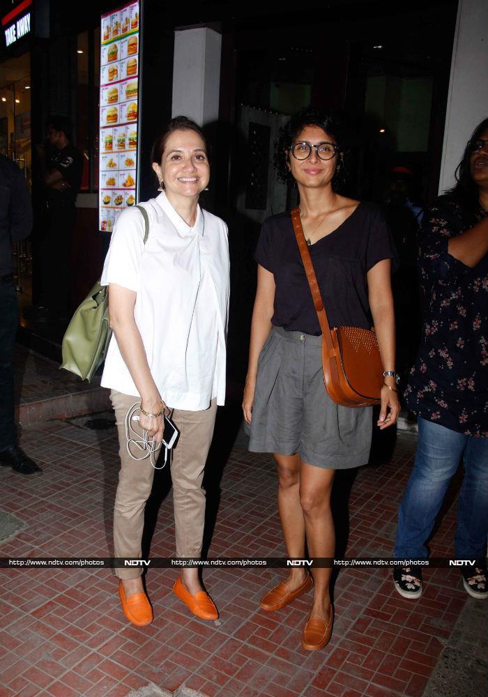 Iulia Vantur, Dia Mirza  And Aditi Rao Hydari\'s Day Out In Bandra