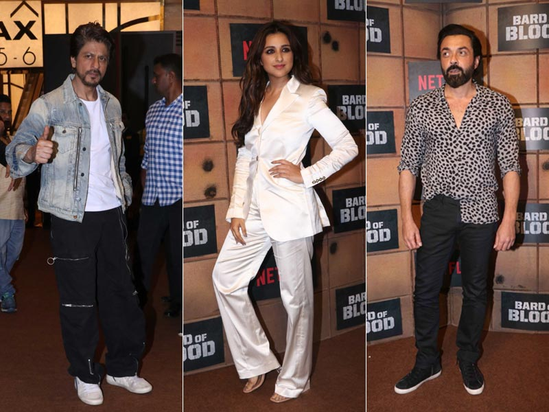 Shah Rukh Khan, Parineeti Chopra And Bobby Deol Attend Bard Of Blood Screening