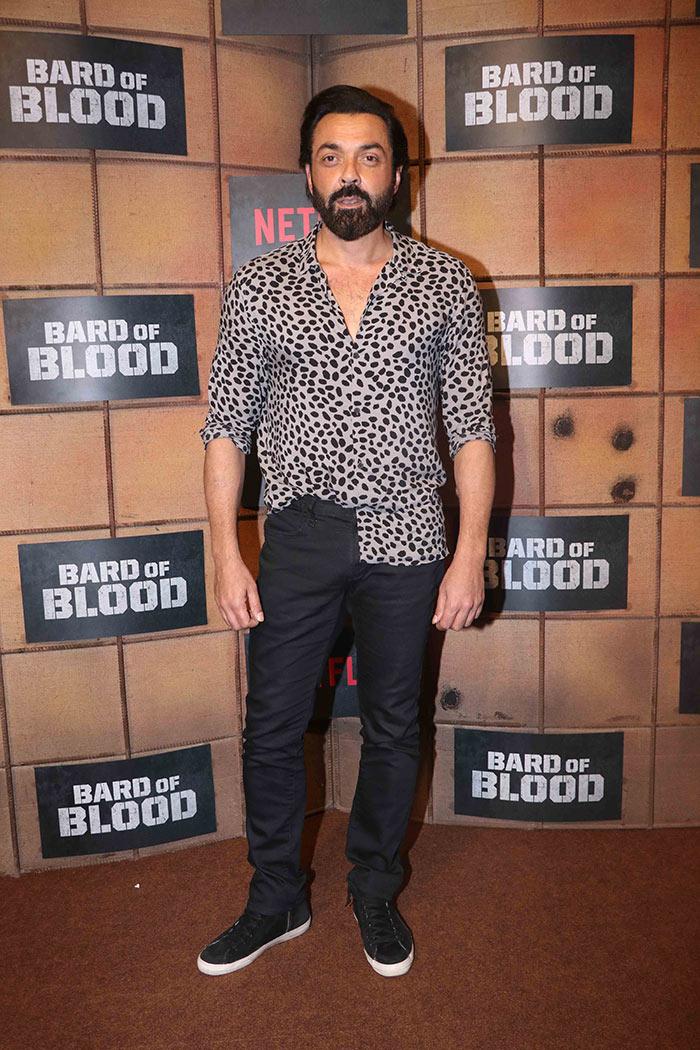 Shah Rukh Khan, Parineeti Chopra And Bobby Deol Attend Bard Of Blood Screening