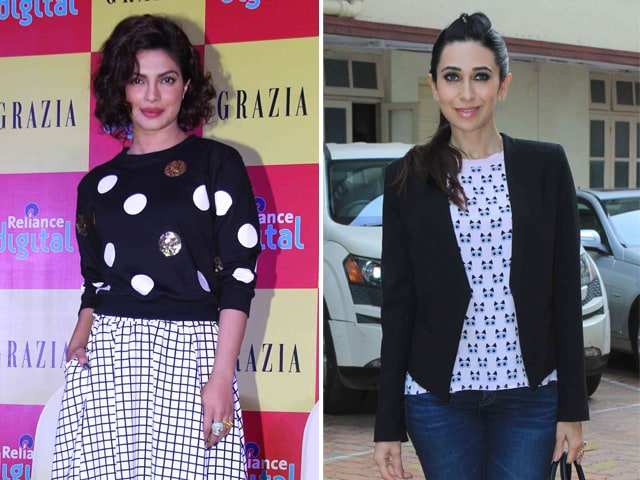 What Priyanka and Karisma Wear to Work