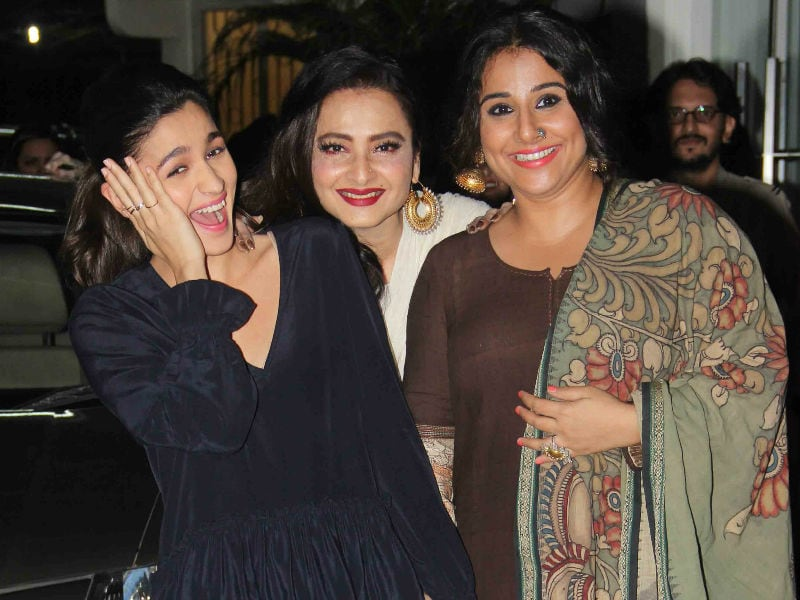 A Happy Evening With Rekha, Alia Bhatt And Vidya Balan