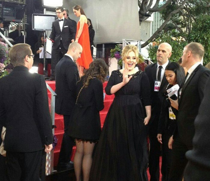 Behind the scenes at the Golden Globes