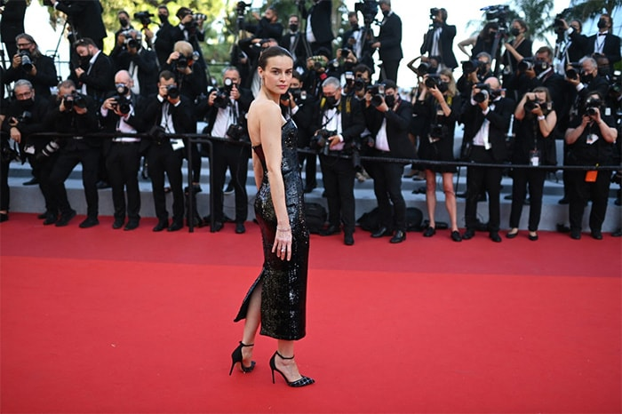Cannes: Black Magic Woman Bella Hadid Sets Red Carpet On Fire