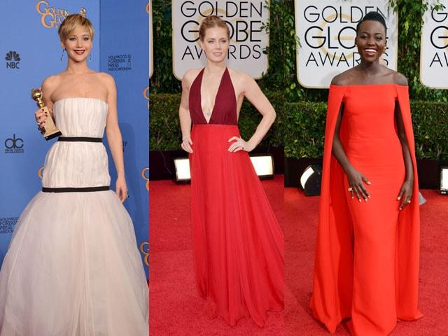 Photo : Golden Globes fashion: 10 best dressed stars