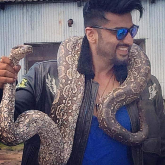 किसी के गले में कोबरा, तो कोई पहुंचा ब्लैक एंड व्हाइट जमाने में, ये क्या कर रहे हैं स्टार्स...