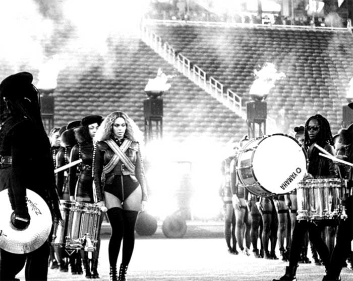 Insta-Gorgeous: Beyonce Posts Stunning Pictures From the Super Bowl