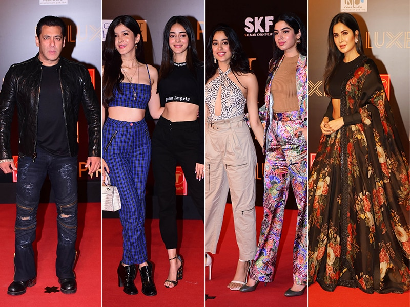 Bharat Premiere: Salman Khan, Katrina Kaif Watch The Film With Janhvi, Ananya, Shanaya And Others