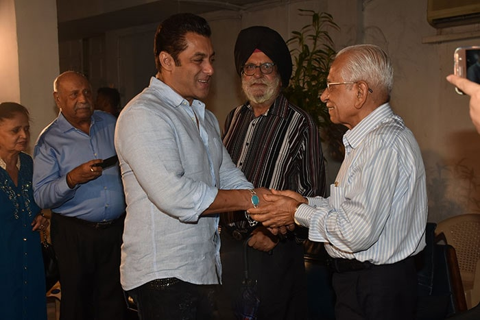 Salman Khan Hosts Bharat Screening For Special Guests