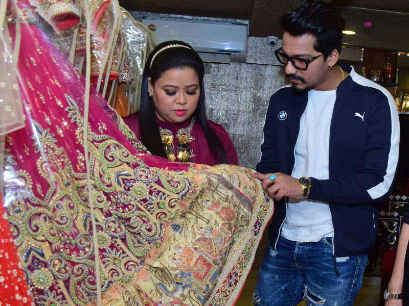 Bharti Singh And Haarsh Limbachiyaa Are Busy With Shaadi Shopping