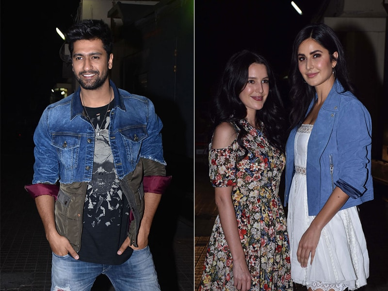 Photo : Katrina Kaif Took Along Sister Isabelle To Watch Vicky Kaushal's Bhoot: Part One