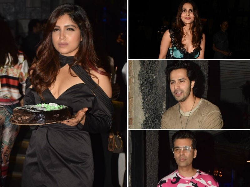 Bhumi Pednekar Celebrates Birthday With Vaani, Varun, KJo