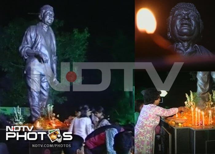 Guwahati pays tribute to Bhupen Hazarika
