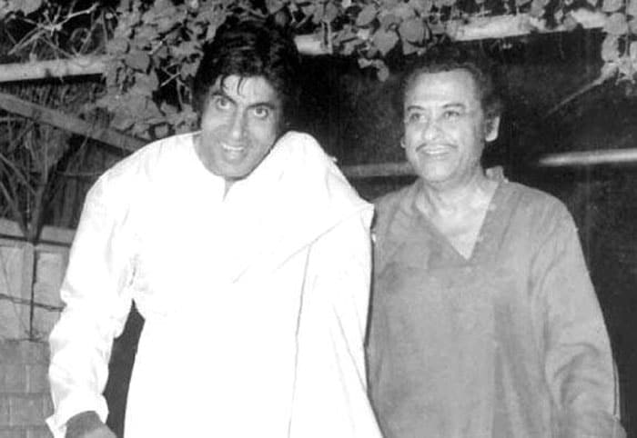 When the Angry Young Man met the King of Melody
