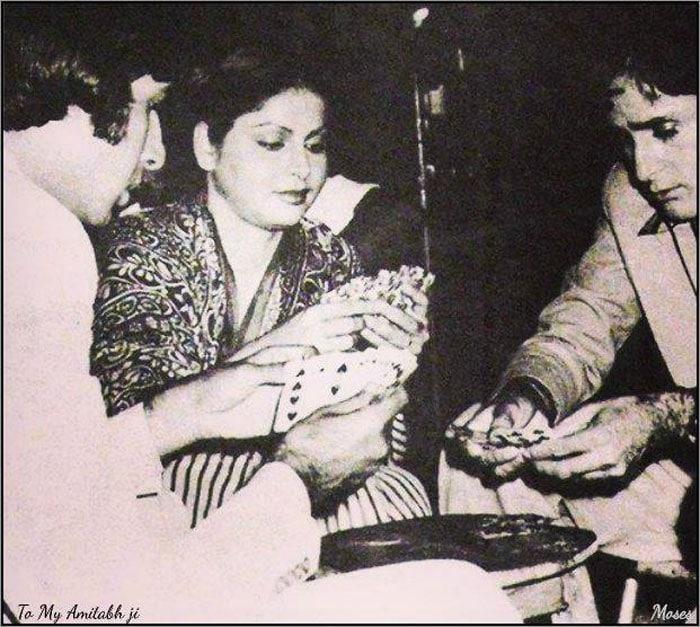 When Big B, Rakhi, Shashi Kapoor played cards