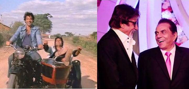 Then and now: Big B & Garam Dharam\'s Dosti