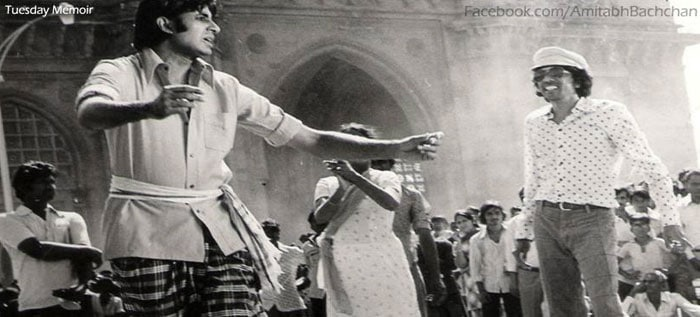 Big B\'s embarassing moment at The Gateway of India