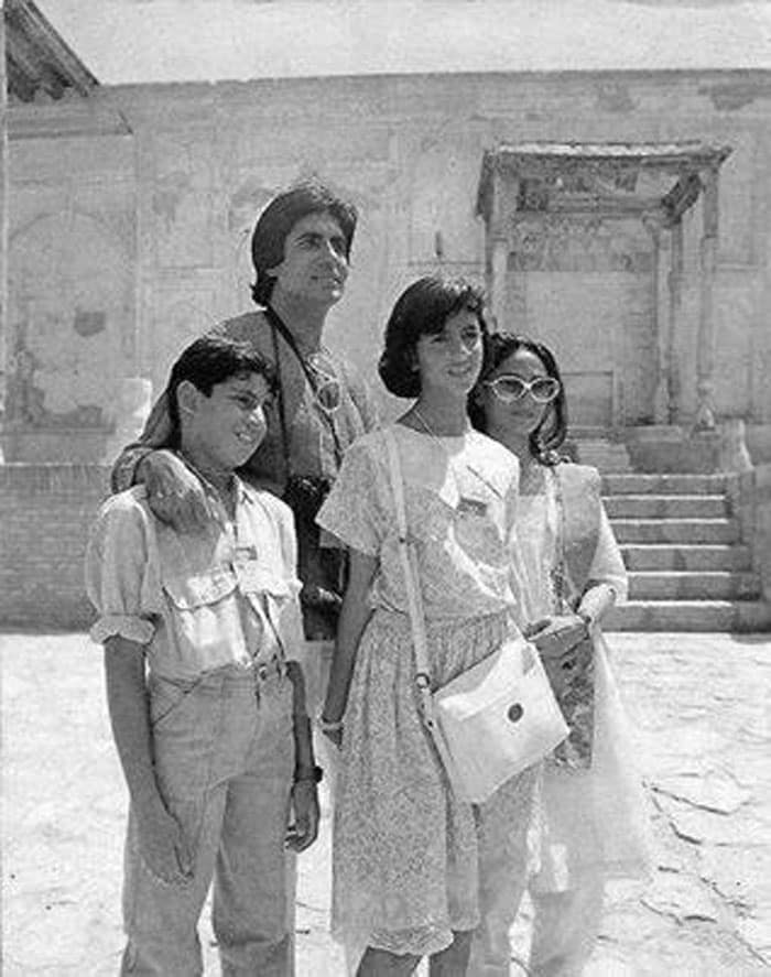 A pic from the Bachchans\' family holiday