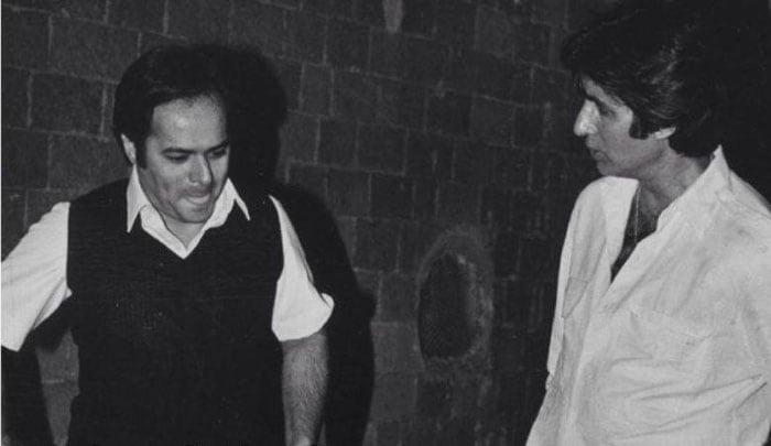 Long long time ago: Big B with Farooq Sheikh