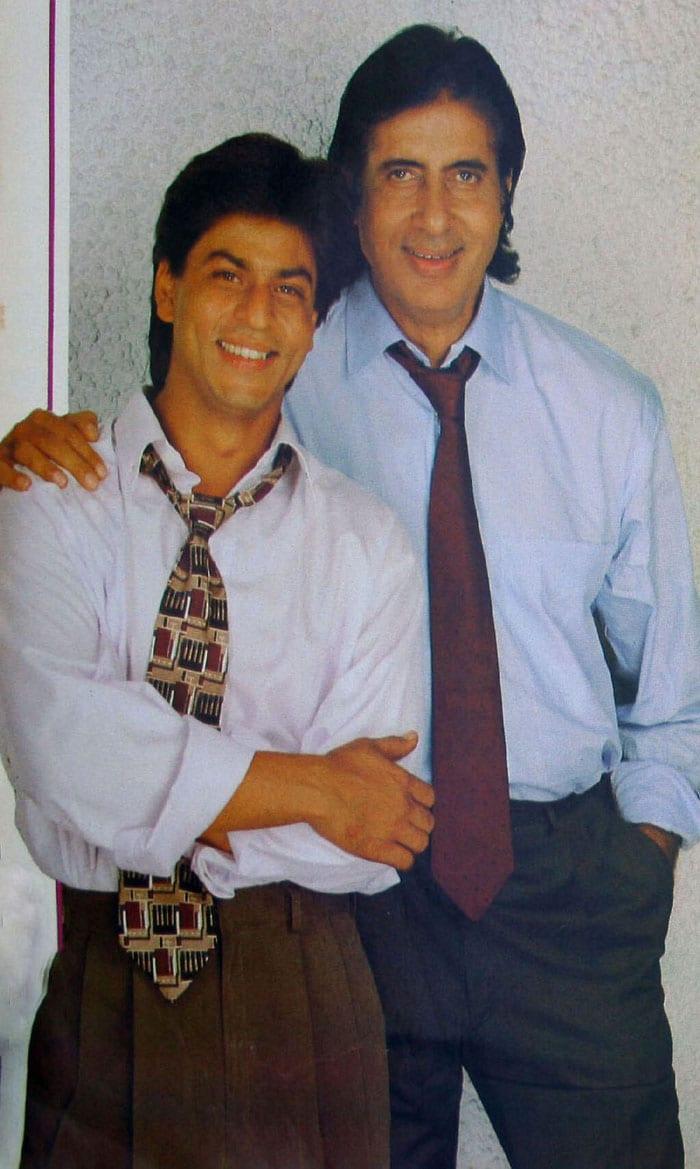 Long, long time ago: SRK with Big B