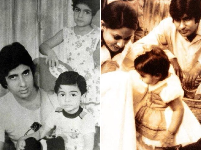Photo : Past Times: Very, Very Junior Bachchans