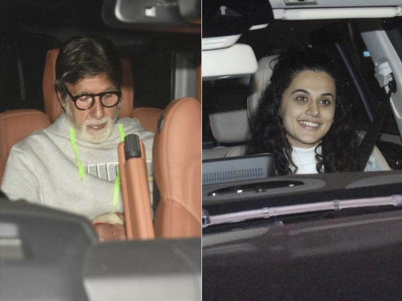 Amitabh Bachchan, Taapsee Pannu Watched Badla With Friends
