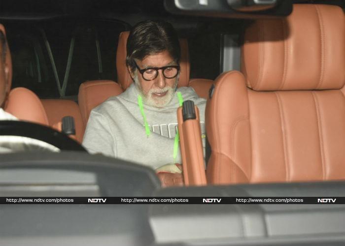 अमिताभ बच्चन और तापसी पन्नू ने देखी फिल्म 'बदला'