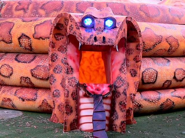 Photo : बिग बॉस 12: सांप के मुंह में एक-दूसरे से तीखी बहस करेंगे घरवाले